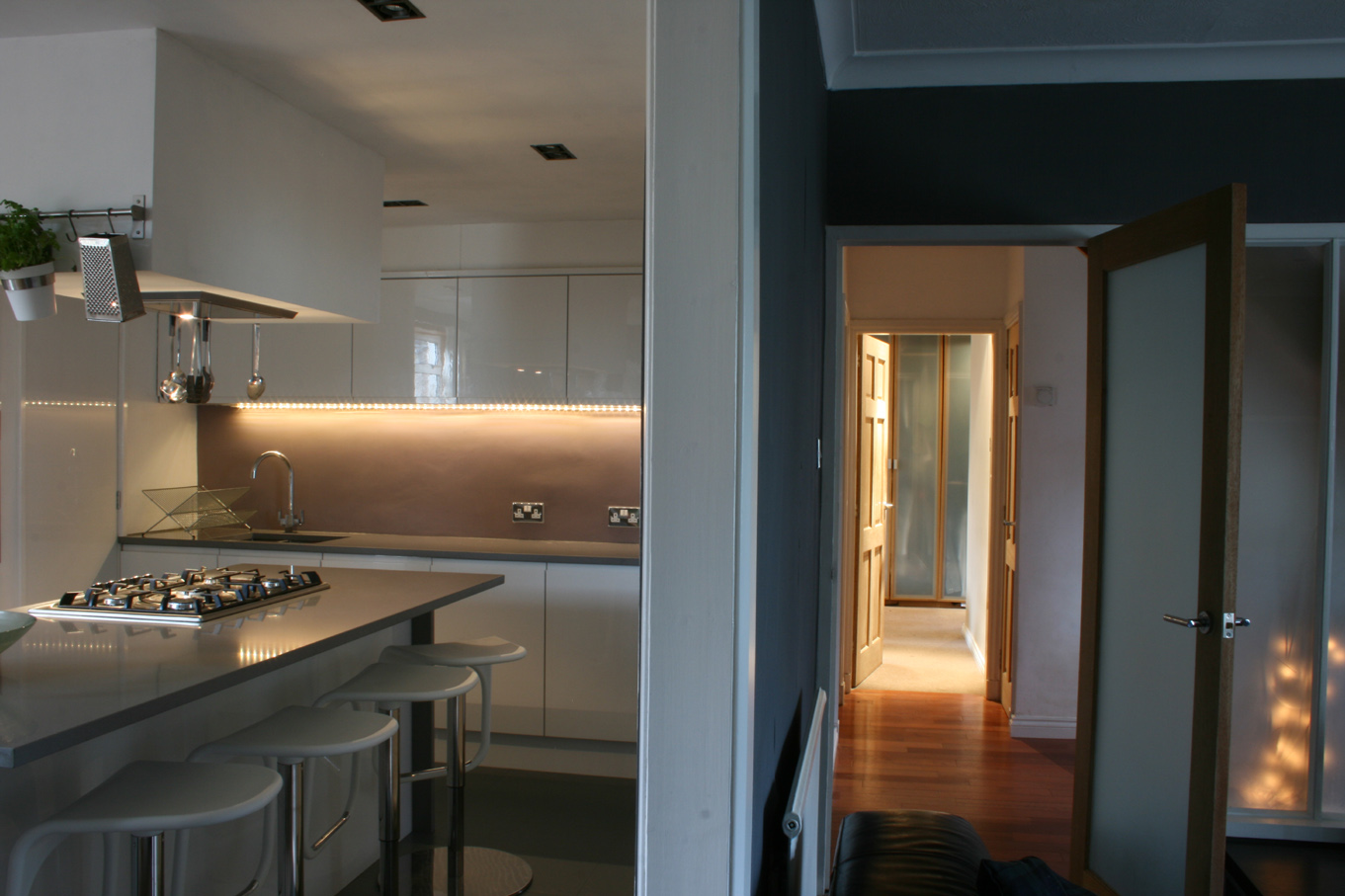 domestic kitchen fit out